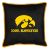 NCAA Iowa Hawkeyes Pillow - Sidelines Series