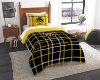 NCAA Iowa Hawkeyes Twin Comforter with Sham