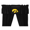 NCAA Iowa Hawkeyes Valance - Locker Room Series