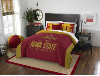 NCAA Iowa State Cyclones QUEEN Comforter and 2 Shams