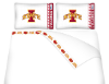 NCAA Iowa State Cyclones Micro Fiber Bed Sheets