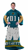 NFL Jacksonville Jaguars Uniform Huddler Blanket With Sleeves