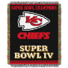 NFL Kansas City Chiefs Commemorative 48x60 Tapestry Throw