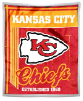 NFL Kansas City Chiefs Sherpa MINK 50x60 Throw Blanket