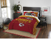 NFL Kansas City Chiefs QUEEN Comforter and 2 Shams