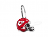 NFL Kansas City Chiefs Shower Curtain Rings