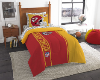 NFL Kansas City Chiefs TWIN Size Bed In A Bag