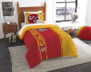 NFL Kansas City Chiefs Twin Comforter with Sham