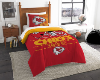 NFL Kansas City Chiefs Twin Comforter Set