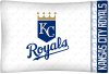 MLB Kansas City Royals Micro Fiber Pillow Cases (set of 2)