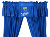 MLB Kansas City Royals Valance - Locker Room Series