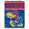 NCAA Kansas Jayhawks OVERTIME 60x80 Super Plush Throw