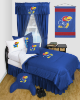 NCAA Kansas Jayhawks Comforter - Locker Room Series
