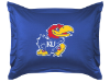 NCAA Kansas Jayhawks Pillow Sham - Locker Room Series