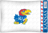 NCAA Kansas Jayhawks Micro Fiber Pillow Cases (set of 2)