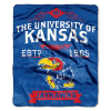 NCAA Kansas Jayhawks 50x60 Raschel Throw Blanket