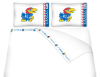 NCAA Kansas Jayhawks Micro Fiber Bed Sheets