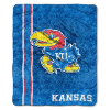 NCAA Kansas Jayhawks Sherpa 50x60 Throw Blanket