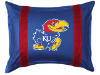 NCAA Kansas Jayhawks Pillow Sham - Sidelines Series