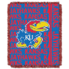 NCAA Kansas Jayhawks FOCUS 48x60 Triple Woven Jacquard Throw