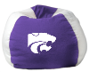 NCAA Kansas State Wildcats Bean Bag Chair