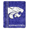 NCAA Kansas State Wildcats Sherpa 50x60 Throw Blanket