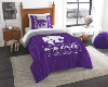 NCAA Kansas State Wildcats Twin Comforter Set
