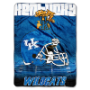 NCAA Kentucky Wildcats OVERTIME 60x80 Super Plush Throw