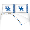 NCAA Kentucky Wildcats Micro Fiber Bed Sheets