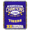 NCAA LSU Tigers Commemorative 48x60 Tapestry Throw
