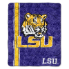 NCAA LSU Tigers Sherpa 50x60 Throw Blanket