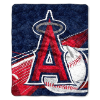MLB Los Angeles Angels SHERPA 50x60 Throw Blanket