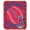 MLB Los Angeles Angels 48x60 Triple Woven Jacquard Throw