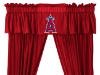 MLB Los Angeles Angels Valance - Locker Room Series