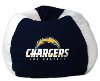NFL Los Angeles Chargers Bean Bag Chair