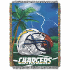 NFL Los Angeles Chargers Home Field Advantage 48x60 Tapestry Throw