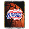NBA Los Angeles Clippers Real Photo 48x60 Tapestry Throw