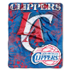 NBA Los Angeles Clippers REFLECT 50x60 Raschel Throw