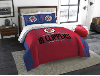 NBA Los Angeles Clippers QUEEN Comforter and 2 Shams