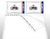 NBA Los Angeles Clippers Micro Fiber Bed Sheets