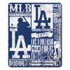 MLB Los Angeles Dodgers 50x60 Fleece Throw Blanket
