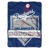 MLB Los Angeles Dodgers 60x80 Super Plush Throw Blanket