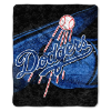 MLB Los Angeles Dodgers SHERPA 50x60 Throw Blanket