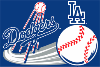 MLB Los Angeles Dodgers 20x30 Tufted Rug