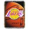 NBA Los Angeles Lakers Real Photo 48x60 Tapestry Throw
