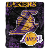 NBA Los Angeles Lakers REFLECT 50x60 Raschel Throw