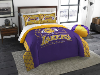 NBA Los Angeles Lakers QUEEN Comforter and 2 Shams