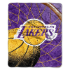 NBA Los Angeles Lakers SHERPA 50x60 Throw Blanket