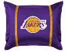 NBA Los Angeles Lakers Pillow Sham - Sidelines Series