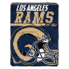 NFL Los Angeles Rams 50x60 Micro Raschel Throw Blanket